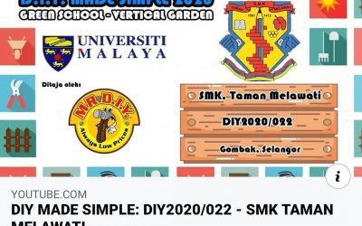 "Watch ""DIY MADE SIMPLE: DIY2020/022 – SMK TAMAN MELAWATI"" on YouTube"